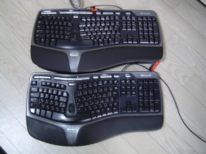 MicrosoftのNatural Ergonomic Keyboard 4000